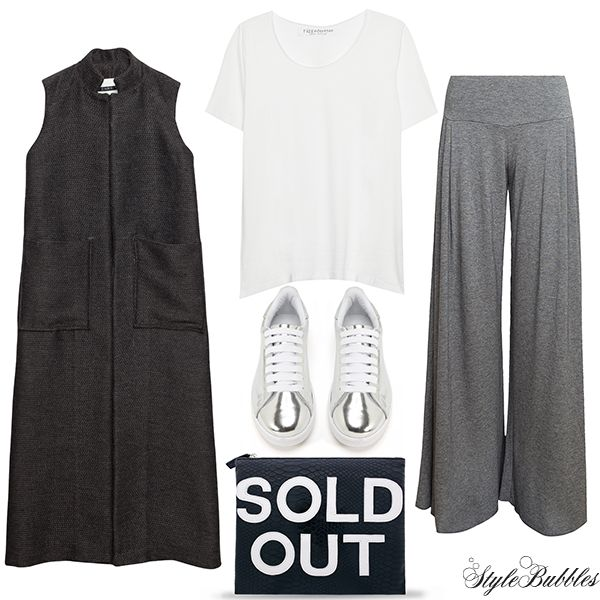 Shades of grey on SALE! Essential items for your everyday outfits now up to -50% off!  #stylebubbles #fashion #sale #onlineshopping
