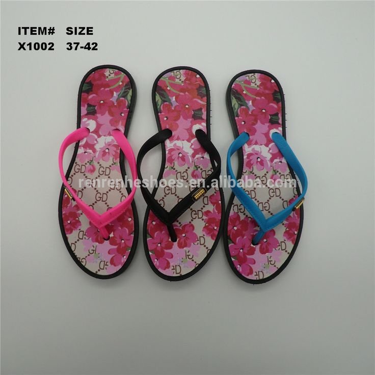 fashion african cheap flip flops for women beach PVC slippers and sandal