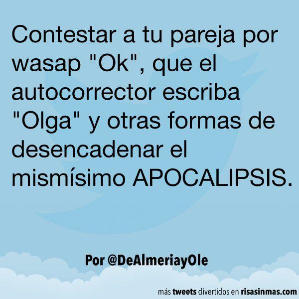Contestar a tu pareja por wasap. #humor #risa #graciosas #chistosas #divertidas