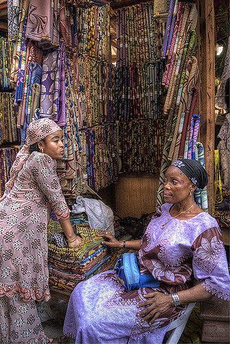 Lagos Market . Nigeria