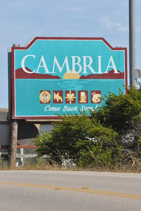 Cambria, California, close to Hearst Castle