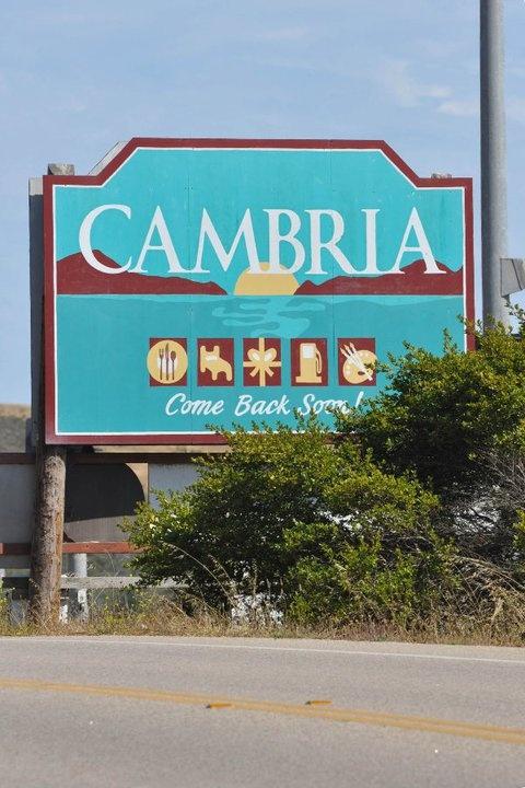 Cambria, California, close to Hearst Castle