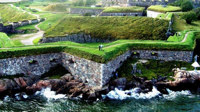 Suomenlinna Sea Fortress, a beautiful and historically important site. It is classed as a UNESCO World Heritage site.