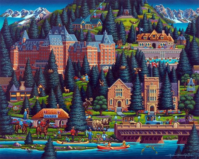 Banff by Eric Dowdle Banff, Canada Eric Dowdle Folk