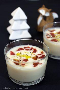 Les fêtes sans se ruiner : Velouté de céleri à l'huile de truffe
