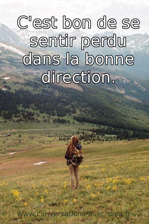 C'est bon de se sentir perdu dans la bonne direction ...  http://ift.tt/1hbAx37