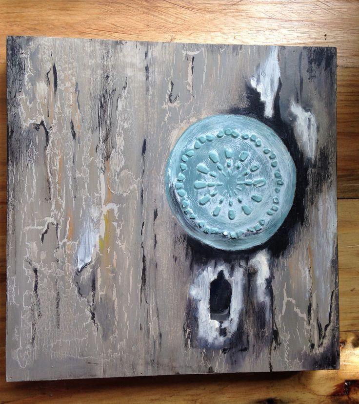 Doorknob Oil on canvas