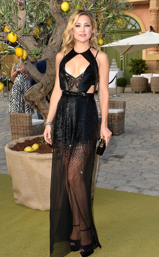 Kate Hudson from The Best of the Red Carpet  Three words: Shut. It. Down. In another sheer and sexy gown, Kate is unbelievably gorgeous in a Julien Macdonald creation.