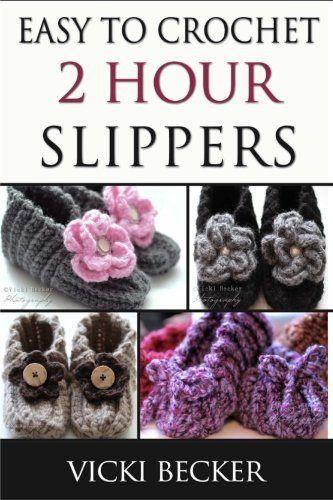 Easy To Crochet 2 Hour Slippers #ArtsAndCrafts