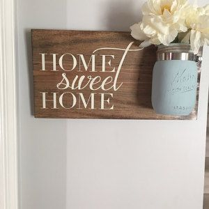 Home Sweet Home Sign,Rustic Home Decor,Farmhouse Home Decor,Wood Sign,Wood Decor,Rustic Wood Decor,Country Decor