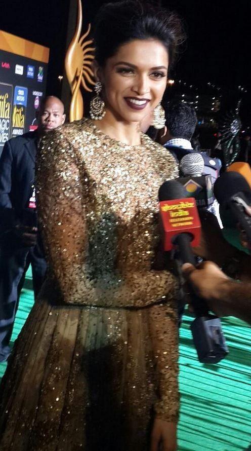 Deepika Padukone at #IIFA Awards 2014. #Style #Bollywood #Fashion #Beauty