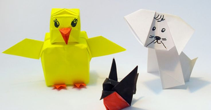 Como fazer origami de animais. As crianças podem facilmente aprender a arte de fazer origami utilizando folhas de papel quadradas e dando formato a elas. Com apenas algumas dobras, pode-se fazer um origami de cachorro ou gato. Os elementos faciais dos animais podem ser desenhados com lápis de cor e canetinha. Essa é uma atividade muito divertida e barata para se realizar, por ...