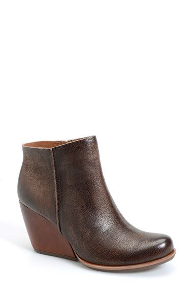 Kork-Ease®+'Natalya'+Burnished+Leather+Demi+Wedge+Boot+(Women)+available+at+#Nordstrom