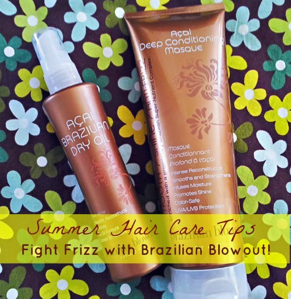 Brazilian Blowout Products Review - Fights the Frizz and Protects Hair - Make the Switch to Dry Oil, it works wonders!