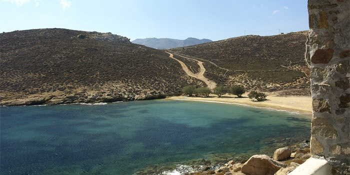 Agios Sostis Beach in Serifos Island, Greece