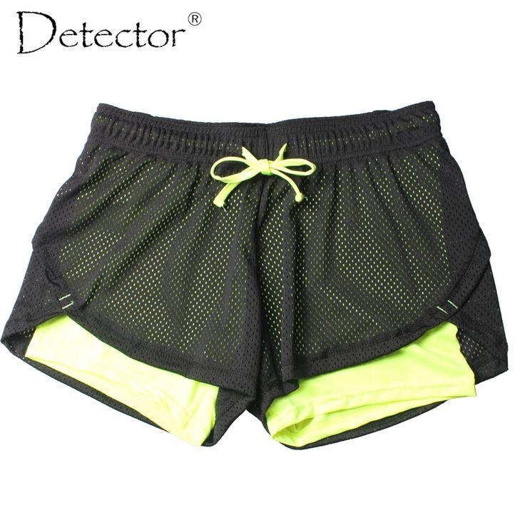 Detector Women ladies Shorts Women Fitness Sport Shorts Women's Printed Cool Women Sport Short Fitness Running Shorts