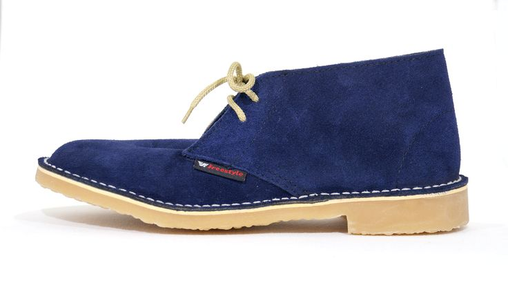 Freestyle (Navy blue Suede) Veldskoen Unisex Handmade Genuine Leather Shoe. R 639   Handcrafted in Cape Town, South Africa (Available in Various Colours). Code: 142210. See online shopping for sizes.   Shop for Freestyle online https://thewhatnotshoes.co.za       Free Delivery within South Africa.