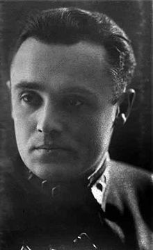 Sergei Pavlovich Korolev (Russian: Серге́й Па́влович Королёв; IPA, Ukrainian: Сергі́й Па́влович Корольо́в, 12 January 1907 – 14 January 1966) was the lead Soviet rocket engineer and spacecraft designer in the Space Race between the United States and the Soviet Union during the 1950s and 1960s. He is considered by many as the father of practical astronautics. Born in Zhytomyr, a provincial center in the Volhynian Governorate of the Russian Empire (now Ukraine).