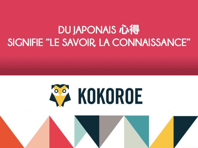 """★ LA MINUTE CULTURE ★ Que signifie """"Kokoroe"""" en japonais ? Levez ENFIN le voile sur le nom mystérieux de la première plateforme collaborative de cours particuliers et de cours collectifs, Kokoroe…  #etaletaculture #culturegenerale #kokoroe #coursparticuliers #edtech #startup #sharingeconomy #passion"""