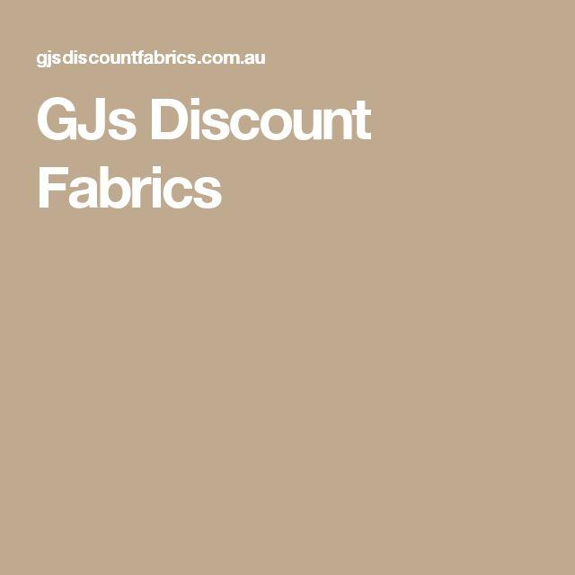 GJs Discount Fabrics