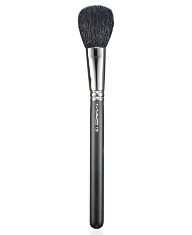 MAC 129 Powder/Blush Brush - Makeup - Beauty - Macy's