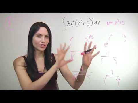 ❤² How to Integrate Using U-Substitution (mathbff) - YouTube