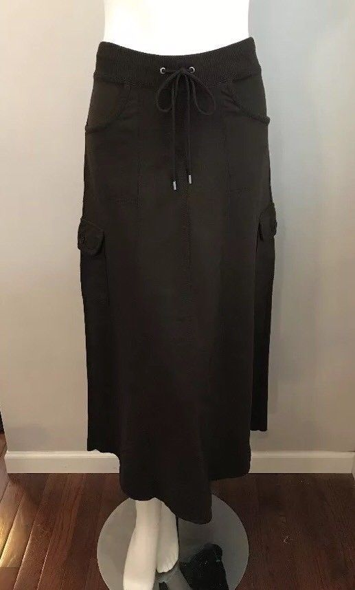 b1e1d66c03 NWT Ann Taylor Loft Chocolate Brown Stretch Knit Cargo Skirt Size M  #fashion #clothing #shoes #accessories #womensclothing #skirts (ebay link)