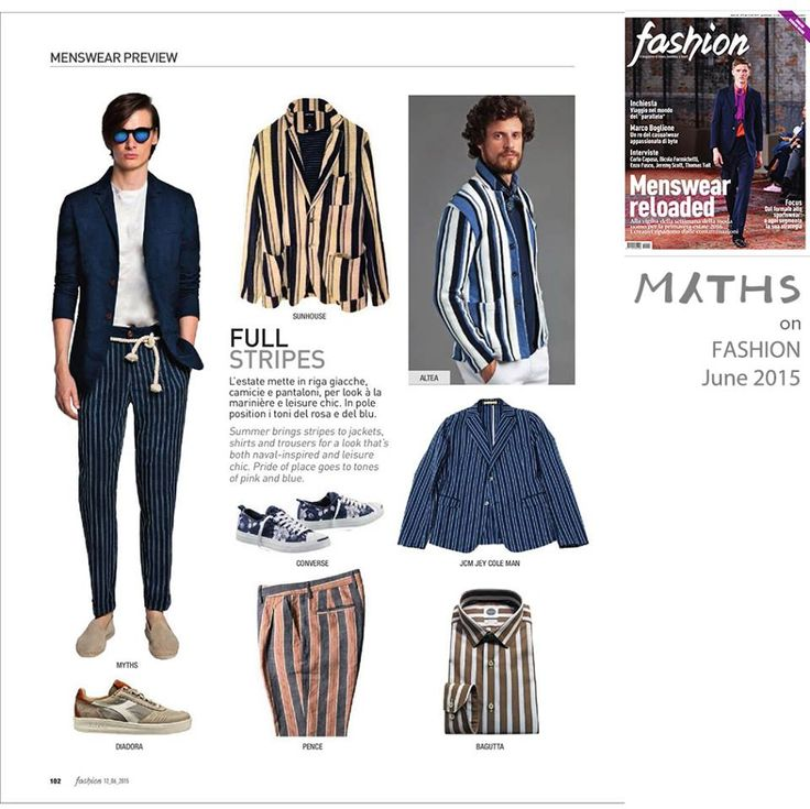 #Press // Stripes time, from now, to the next hot season's trend. #StripesLover #NewStyle #Myths