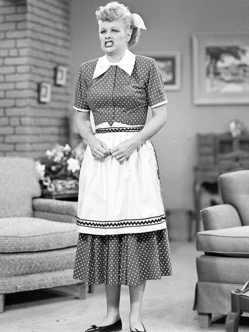 I Love Lucy... my halloween costume this year!