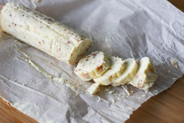 Bacon blue cheese butter from the always amazing @Jaden Hair - I could eat this all by itself!