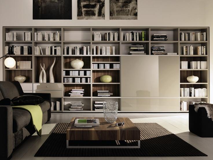 Open bookcase MEGA-DESIGN, Hülsta-Werke Hüls
