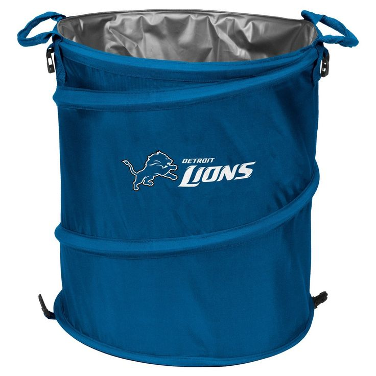 NFL Detroit Lions Collapsible 3-in-1 Soft-Sided Cooler Tote