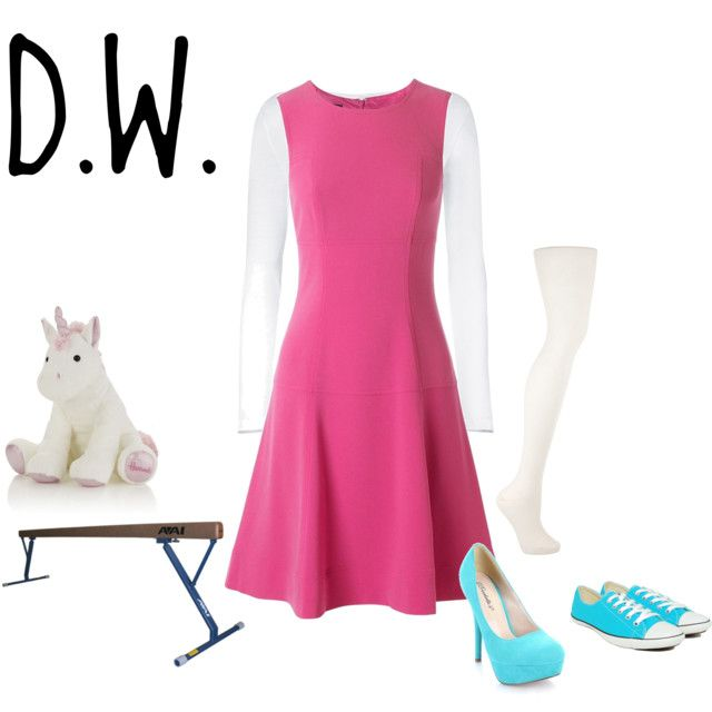 D.W. Read (from Arthur), created by vicktorina on Polyvore