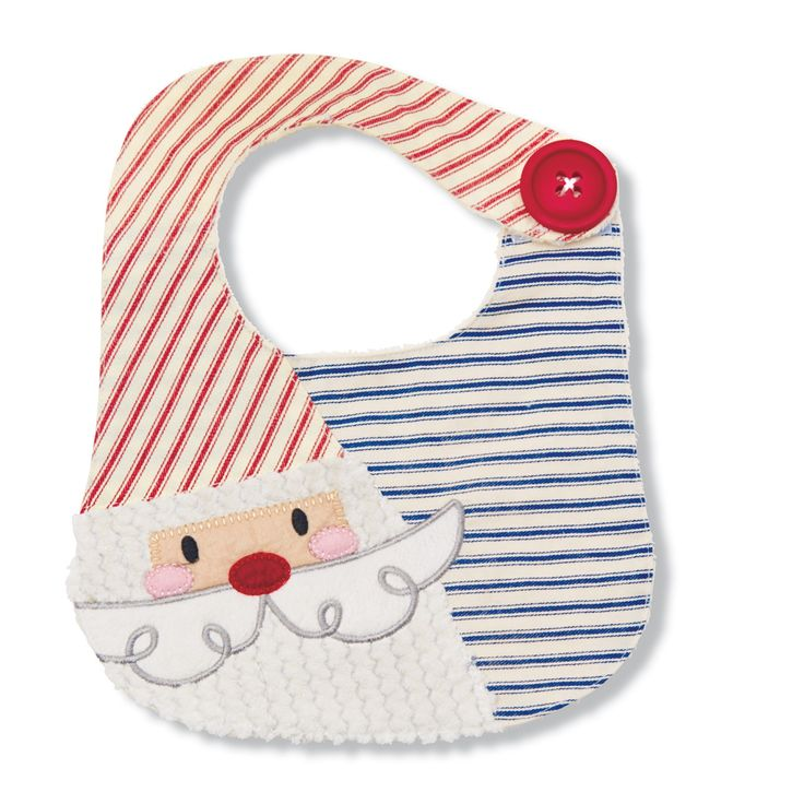 Santa Bib by Mud Pie