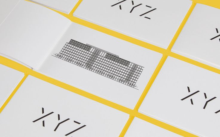 Hingston Studio – Brand identity for XYZ, a property development from Allied London, in Spinning Fields, Manchester