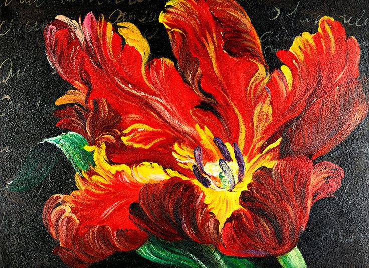 Masterpiece Art - Red Flower, $32.00 (http://www.masterpieceart.com.au/red-flower/)