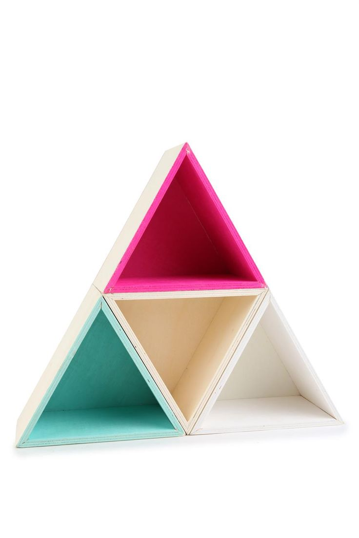 stacked triangle shadow boxes, use for kink knacks $17.57 Malaysia, make ourselves???????