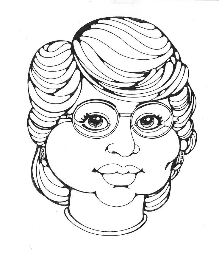 Self portrait in line- pen & ink