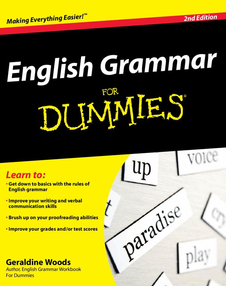 english language for dummies Ap english language & composition for dummies english as a global language second edition david crystal, world authority on the english language, presents a lively.