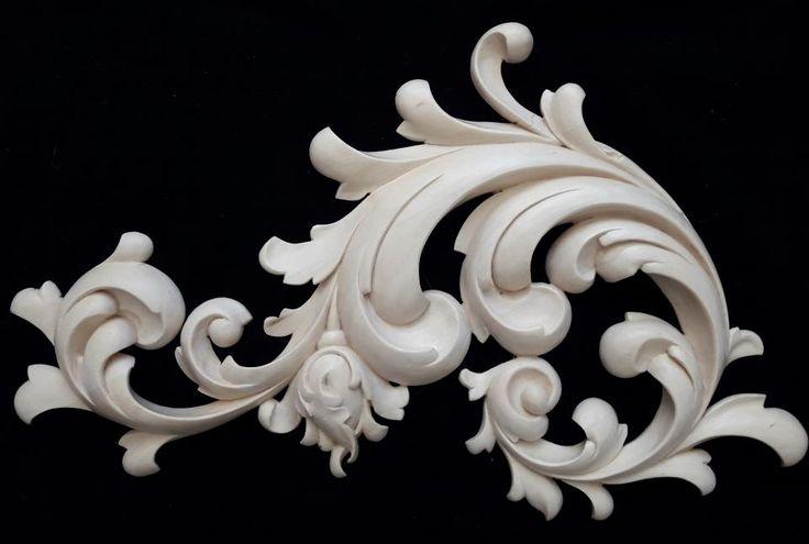 Угловой элемент декора иконостаса | Резьба по дереву, кости и камню