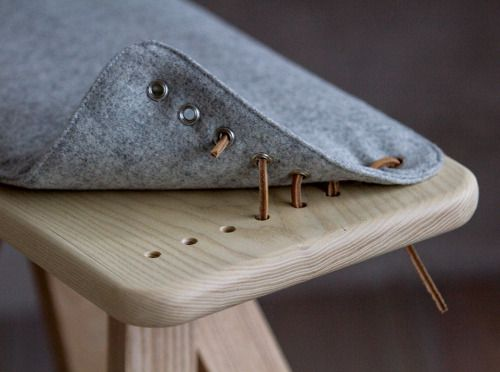 Stools and benches by Grimbergs