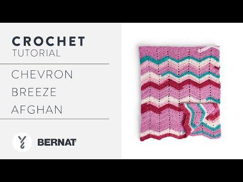 Chevron Crochet Afghan Pattern Tutorial | With The Crochet