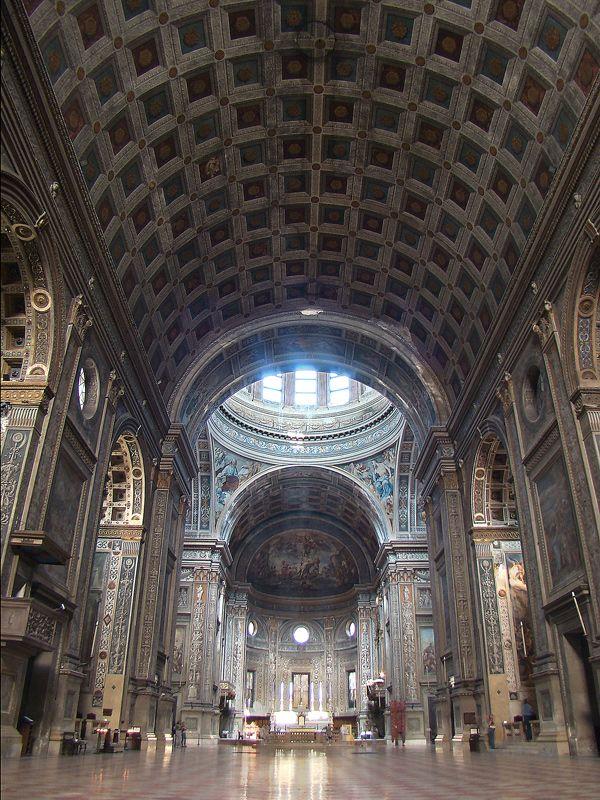 Леон Баттиста Альберти. Церковь Сант'Андреа в Мантуе. 1442-1472.