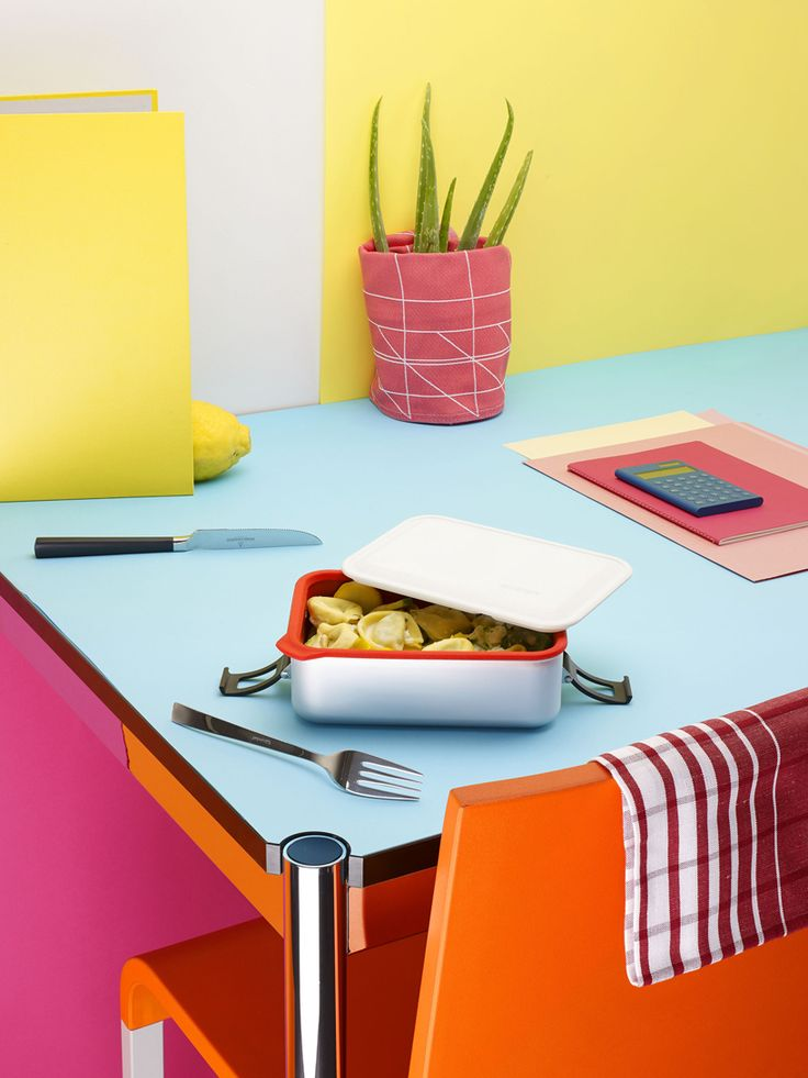 SIGG lunch boxes, food containers and accessories by ECAL
