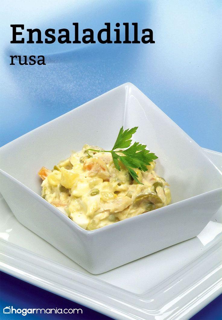 Ensaladilla rusa #hogarmania #arguiñano #cocina #recetas #faciles #ensaladilla #rusa