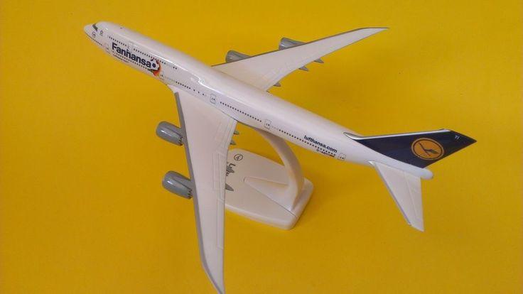Lufthansa Fanhansa Boeing B747-8 D-ABYI Potsdam Herpa Wings Snap Fit 1:200