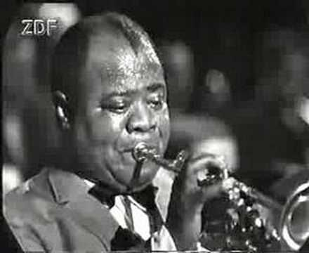 Louis Armstrong - Hello Dolly Live...What an awesome man! To bad my generation and younger will miss out on hearing him except in videos.