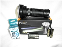 This is a SUPER DEAL on the Ultimate flashlight! 2,600 LUMENS! This thing can be seen on the moon!