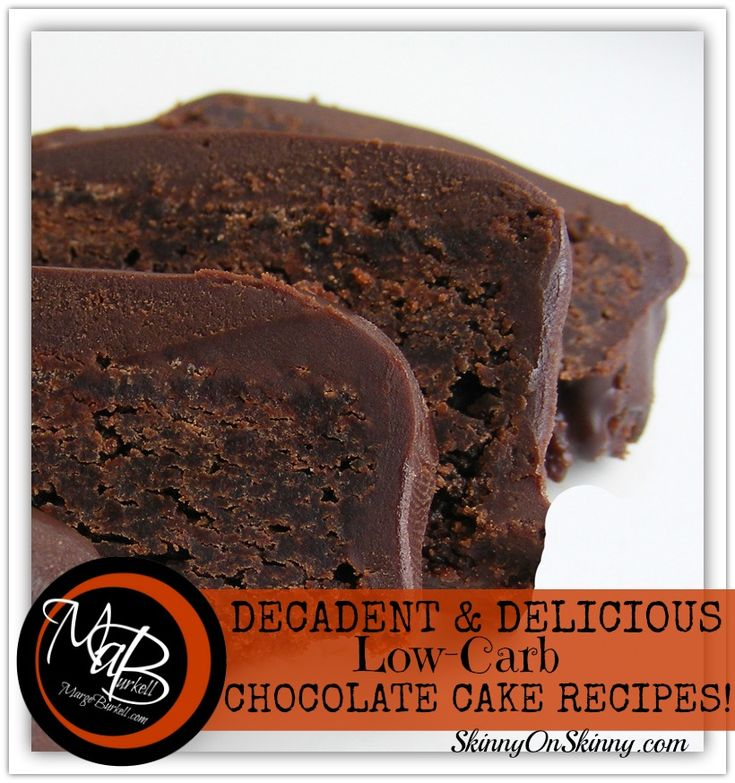 Happy National Chocolate Cake DAY!  Did you KNOW???  In honor of the occasion here is a big recipe roundup of the absolute BEST low carb chocolate cake recipes available today!  ALL certified LOW carb, decadent and delicious!!!