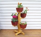 Five Pot Flower Stand Indoor Flower Pot Stand by HummelCreations, $59.99